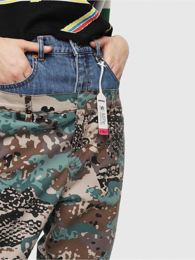 Diesel - P-CALI-A, Verde Camo - Pantaloni - Image 4