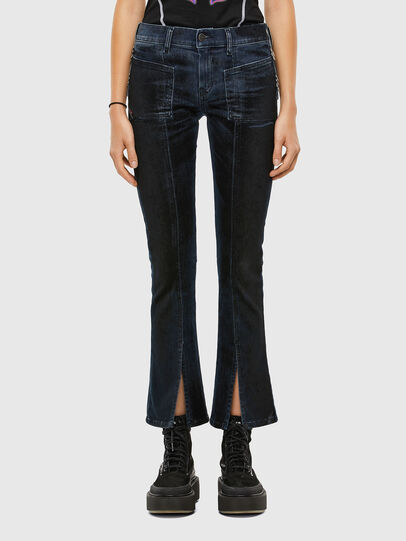 Diesel - Slandy 009KN, Blu Scuro - Jeans - Image 1
