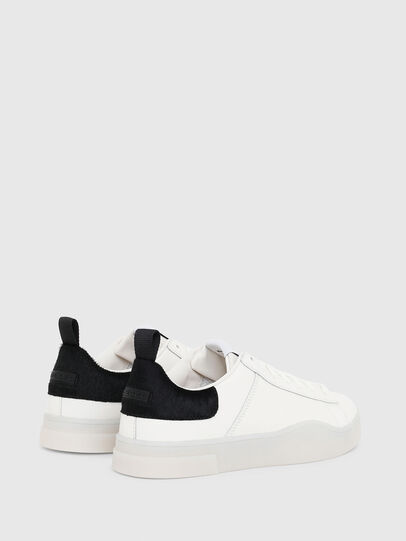 Diesel - S-CLEVER LOW LACE, Bianco/Nero - Sneakers - Image 3