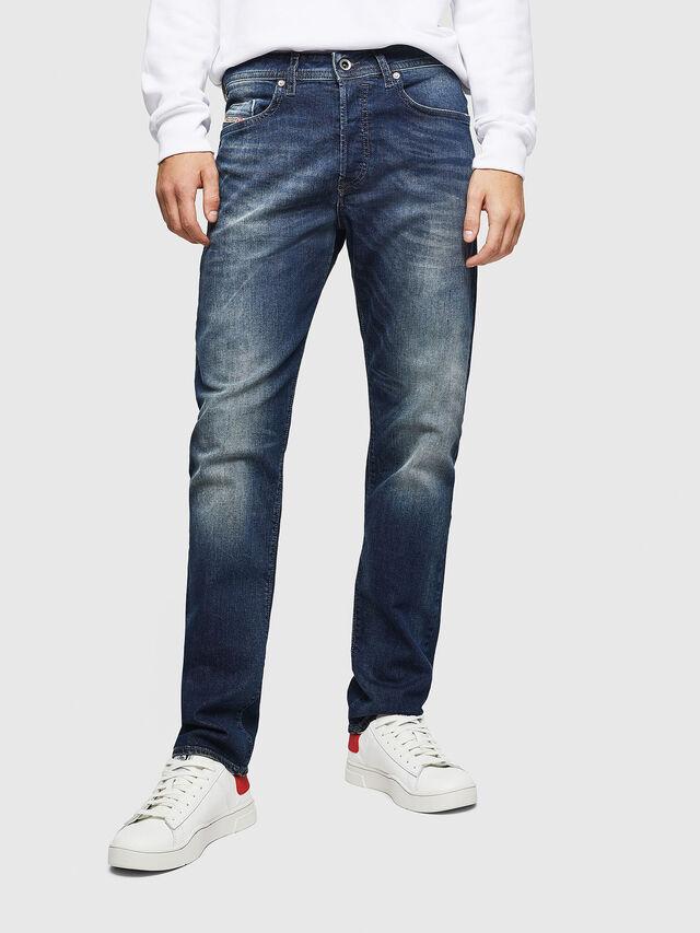 Diesel Buster 0853R, Blu Scuro - Jeans - Image 1