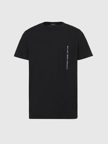 """T-shirt con ricamo """"Copyright"""""""