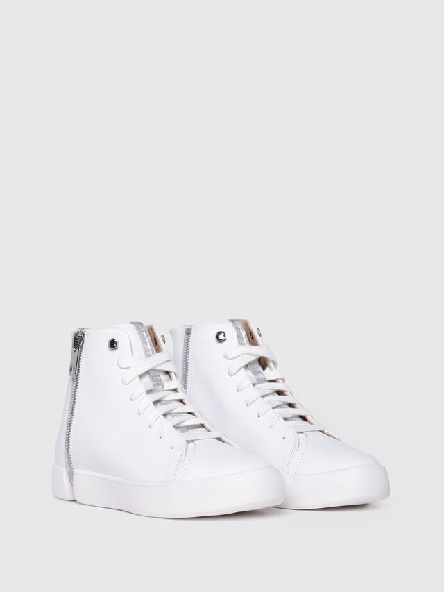 Diesel - S-NENTISH MC W, Bianco - Sneakers - Image 2