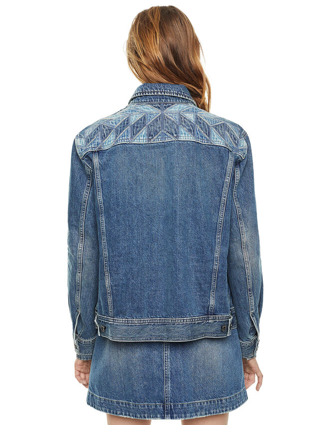 Diesel - WONDERY, Blu Jeans - Giacche - Image 2