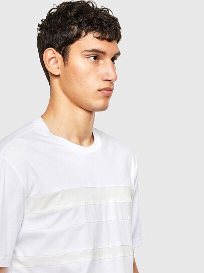 Diesel - T-LOUD, Bianco - T-Shirts - Image 4