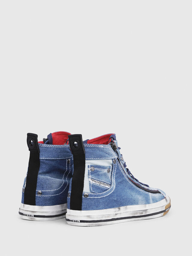 Diesel - EXPO-ZIP W, Blu Jeans - Sneakers - Image 3
