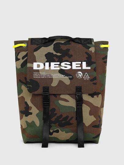 Diesel - VOLPAGO BACK, Verde Camo - Zaini - Image 1