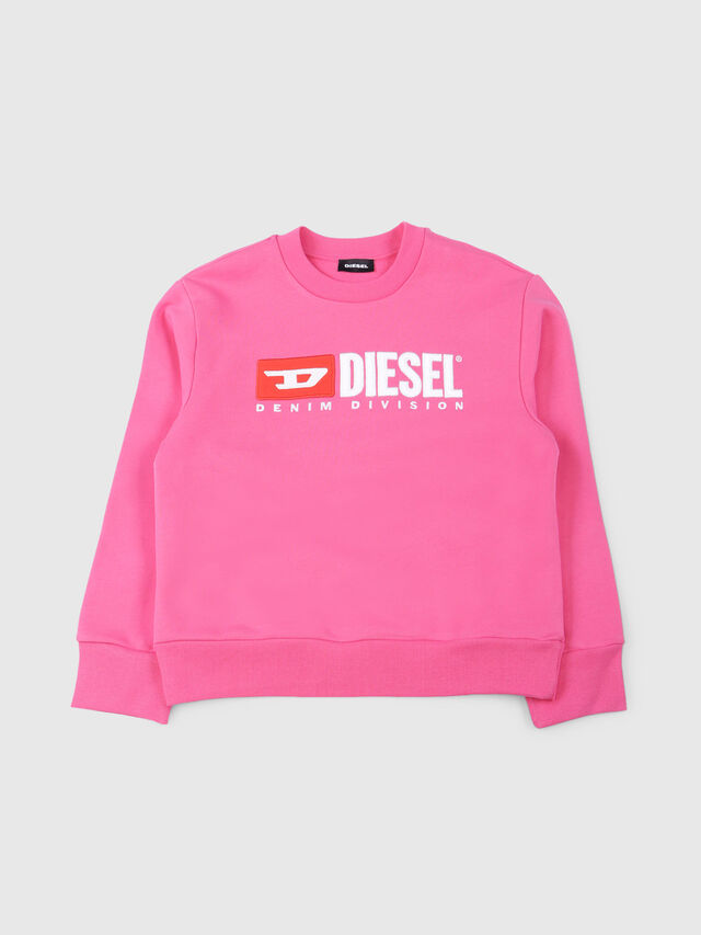Diesel - SCREWDIVISION OVER, Fucsia - Felpe - Image 1