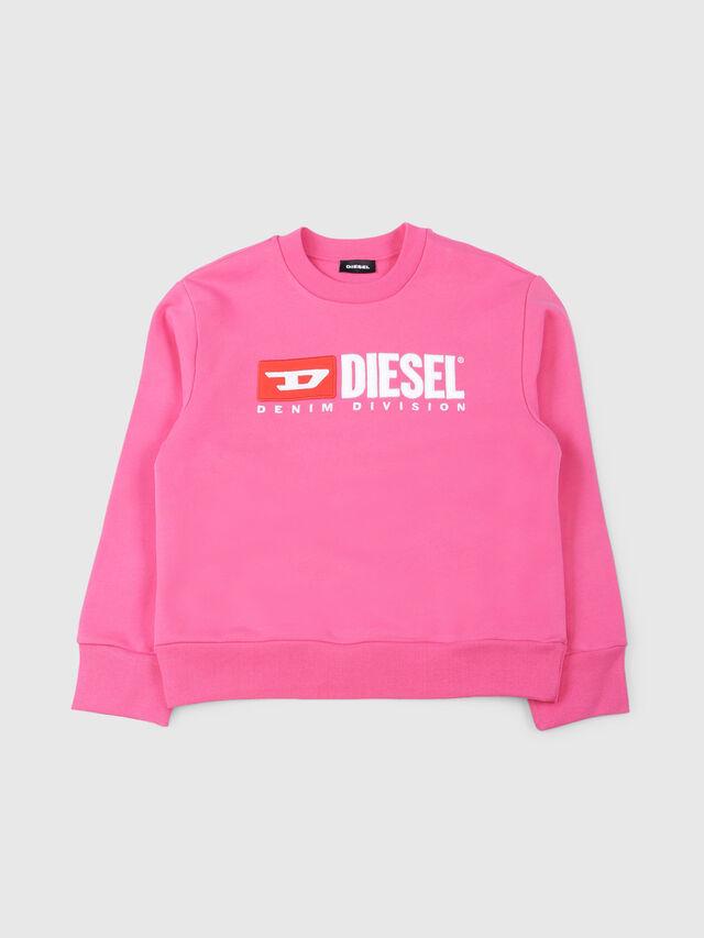 Diesel - SCREWDIVISION OVER, Fucsia - Felpe - Image 1