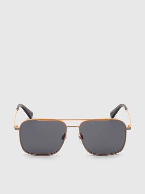 DL0295, Arancione/Nero - Occhiali da sole