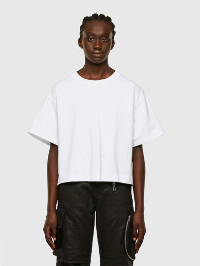 Diesel - T-BOWLESS, Bianco - T-Shirts - Image 1