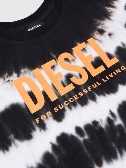 Diesel - TAREZB-R, Nero/Bianco - T-shirts e Tops - Image 3