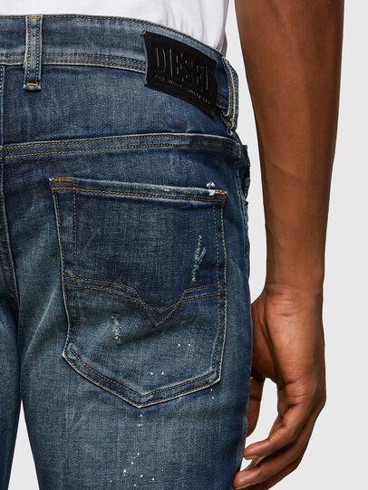 Diesel - Sleenker 0097L, Blu Scuro - Jeans - Image 4