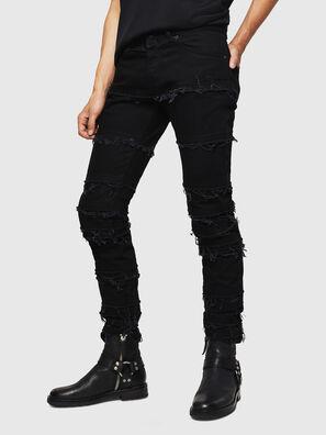 TYPE-2813-X, Nero - Jeans