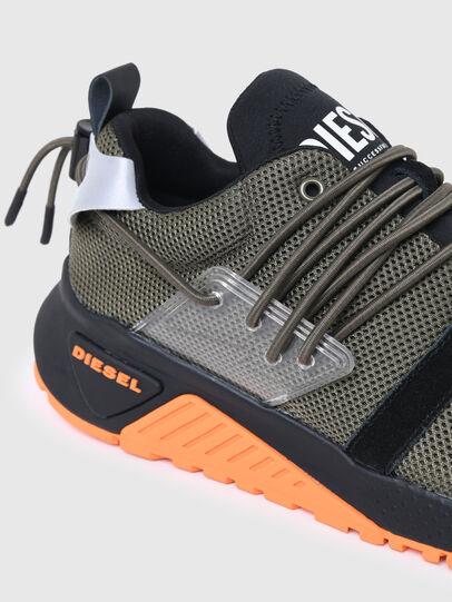 Diesel - S-KB UP LACE, Verde Militare - Sneakers - Image 4