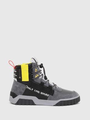 S-RUA MID SP, Grigio/Nero - Sneakers