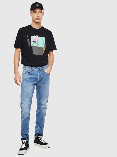 Diesel - Buster 069MN, Blu Chiaro - Jeans - Image 5