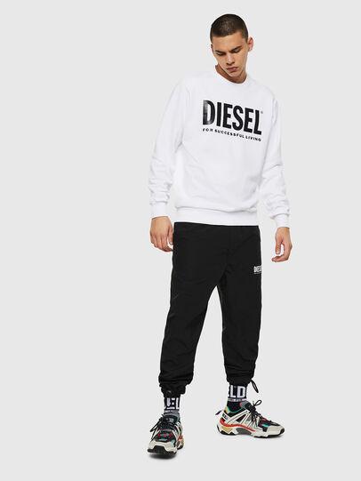 Diesel - S-GIR-DIVISION-LOGO, Bianco - Felpe - Image 7