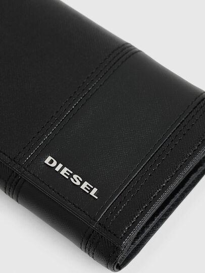 Diesel - 24 A DAY, Nero - Portafogli Continental - Image 5