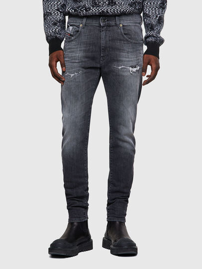 Diesel - D-Strukt JoggJeans® 009QT, Nero/Grigio scuro - Jeans - Image 1