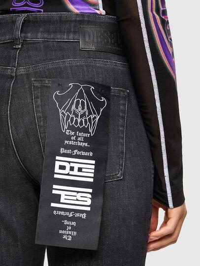 Diesel - D-Earlie 009JZ, Nero/Grigio scuro - Jeans - Image 4