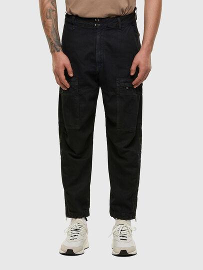 Diesel - D-Luks 009IB, Blu Scuro - Jeans - Image 1