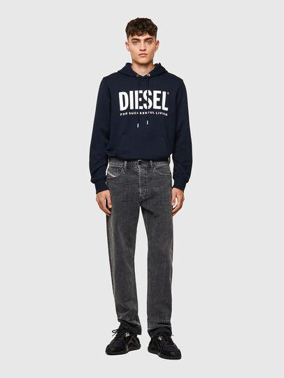 Diesel - D-Macs 09A23, Nero/Grigio scuro - Jeans - Image 6