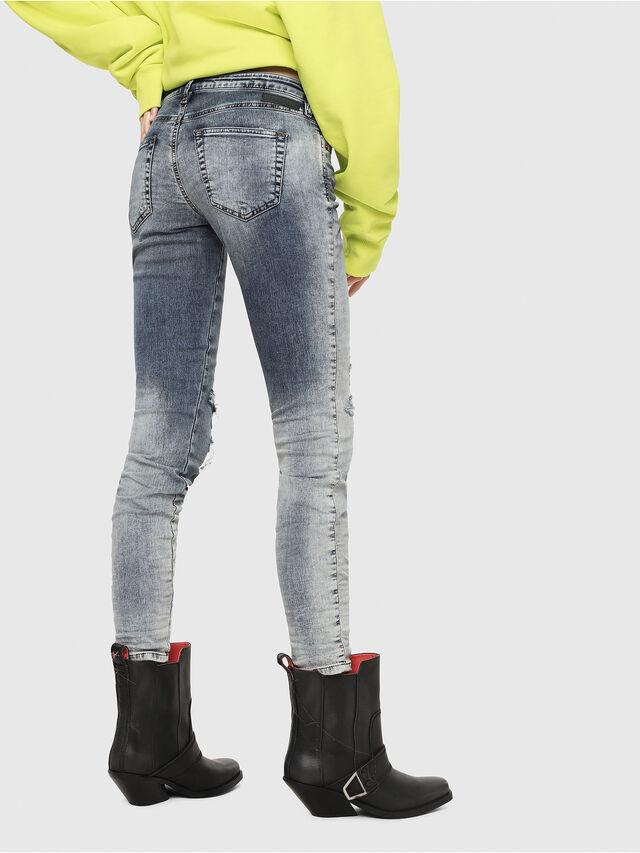 Diesel - Gracey JoggJeans 069FC, Blu medio - Jeans - Image 2