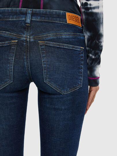 Diesel - Slandy Low 069PX, Blu Scuro - Jeans - Image 5