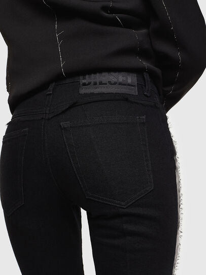 Diesel - Babhila 0NAZH, Nero/Grigio scuro - Jeans - Image 4