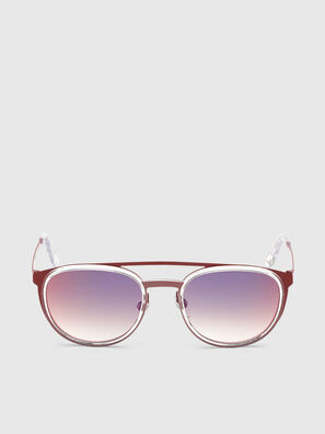 DL0293, Rosso/Bianco - Occhiali da sole