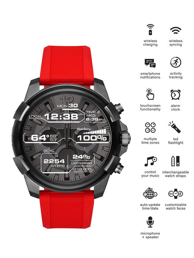 Diesel - DT2006, Rosso - Smartwatches - Image 1