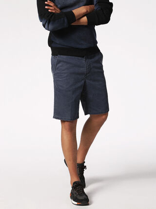 CHINO-SHORT JOGGJEANS, Blu Scuro