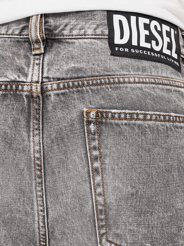 Diesel - D-KORT, Grigio Chiaro - Shorts - Image 5