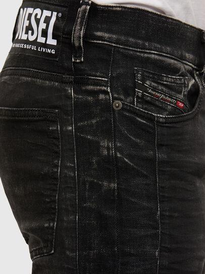 Diesel - D-REEFT JoggJeans® 009FY, Nero/Grigio scuro - Jeans - Image 4