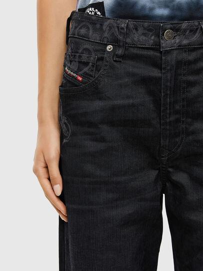 Diesel - D-Reggy 009LC, Nero/Grigio scuro - Jeans - Image 4