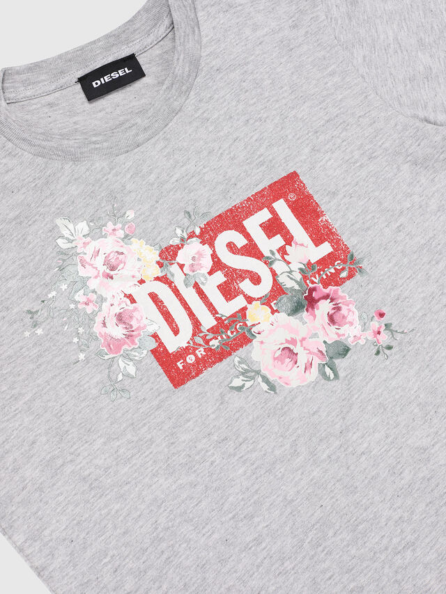 Diesel - TFLAVIA, Grigio - T-shirts e Tops - Image 3