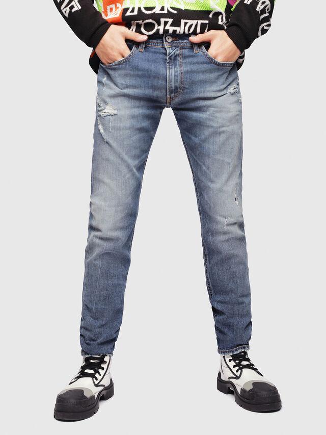 Diesel - Thommer 069DZ, Blu medio - Jeans - Image 1