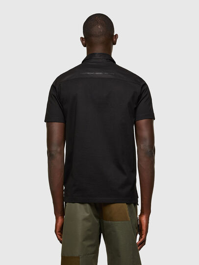 Diesel - T-ORACLE, Nero - Polo - Image 2