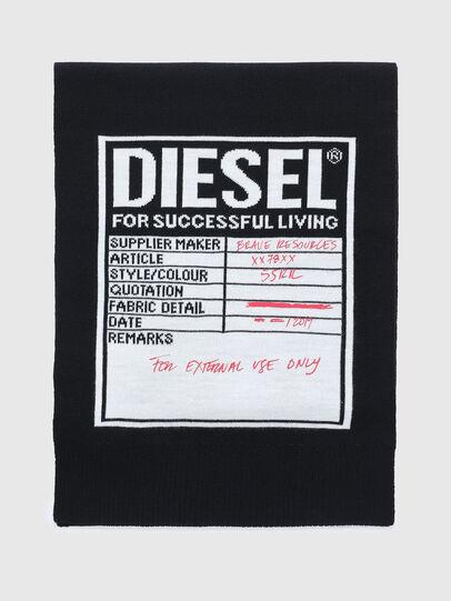 Diesel - K-GUBO D, Nero - Sciarpe - Image 1
