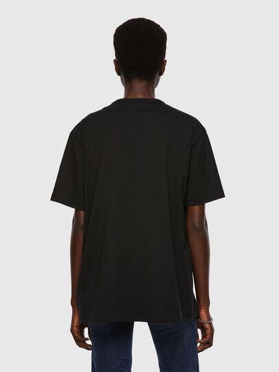 Diesel - T-BOYISH, Nero - T-Shirts - Image 2