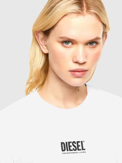Diesel - T-SILY-SMALLOGO, Bianco - T-Shirts - Image 3