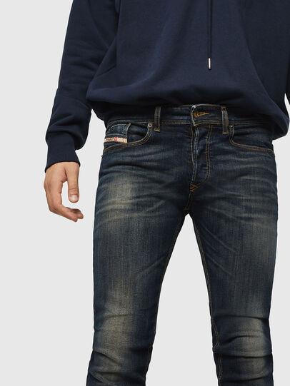 Diesel - Sleenker 069FX, Blu Scuro - Jeans - Image 3