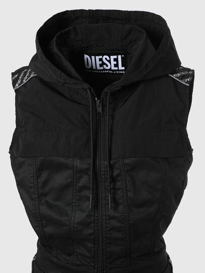 Diesel - D-JAYLEN JOGGJEANS, Nero/Grigio scuro - Tute e Salopette - Image 3