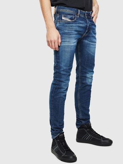 Diesel - Sleenker 0097T, Blu Scuro - Jeans - Image 4