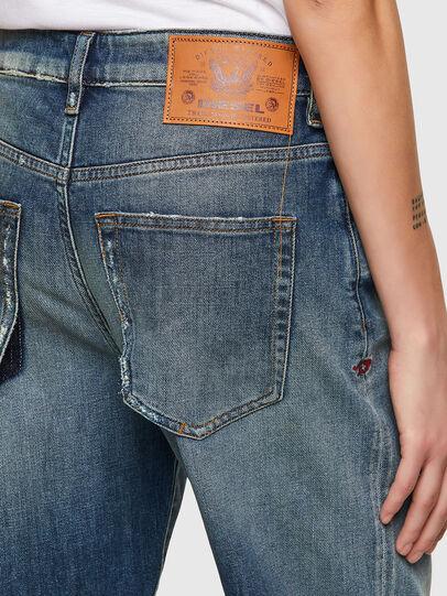 Diesel - D-Reggy 009UA, Blu Scuro - Jeans - Image 3
