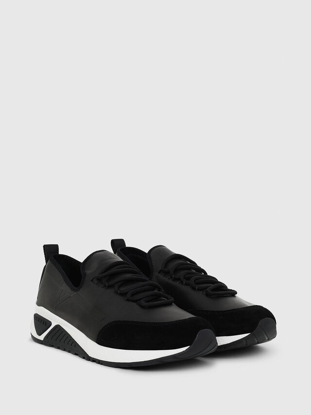 Diesel - S-KBY, Nero Cuoio - Sneakers - Image 2