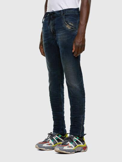 Diesel - Krooley JoggJeans 069NP, Blu Scuro - Jeans - Image 8