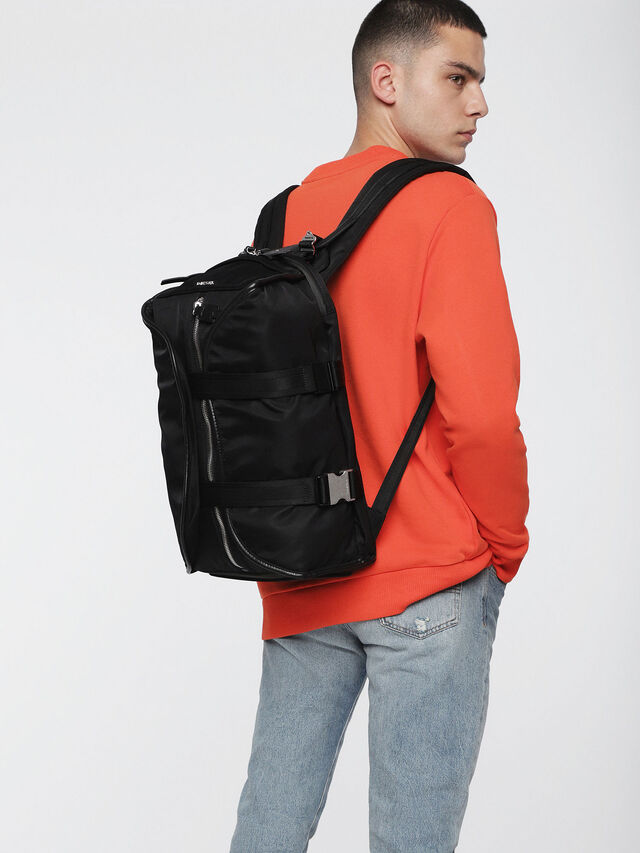 Diesel - F-LAW BACK, Nero/Blu - Zaini - Image 5