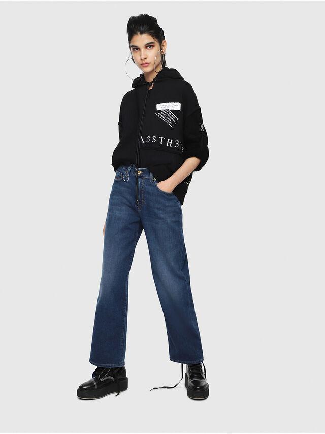 Diesel - Widee JoggJeans 080AR, Blu Scuro - Jeans - Image 4
