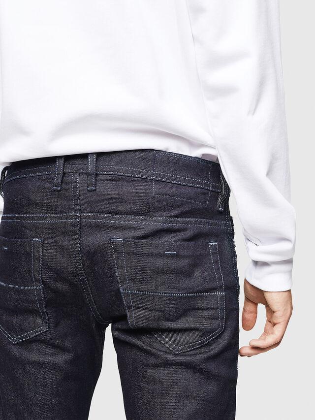 Diesel - Thommer 084HN, Blu Scuro - Jeans - Image 4
